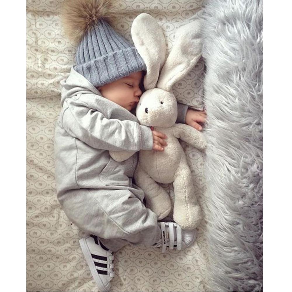 """Набор 2шт. вязанная косичкой теплая шапка с меховым помпоном """"Мама и я"""" - 3"""