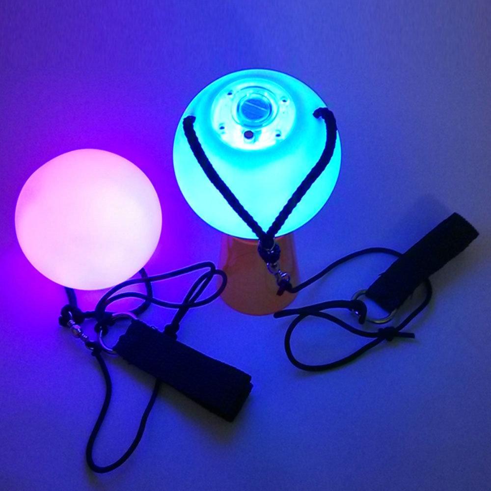 Пара светящихся шаров- LED для восточных танцев - 1