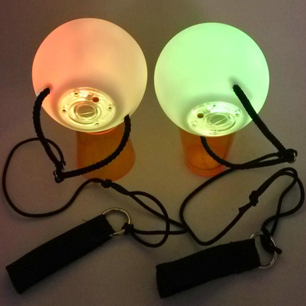 Пара светящихся шаров- LED для восточных танцев - 2