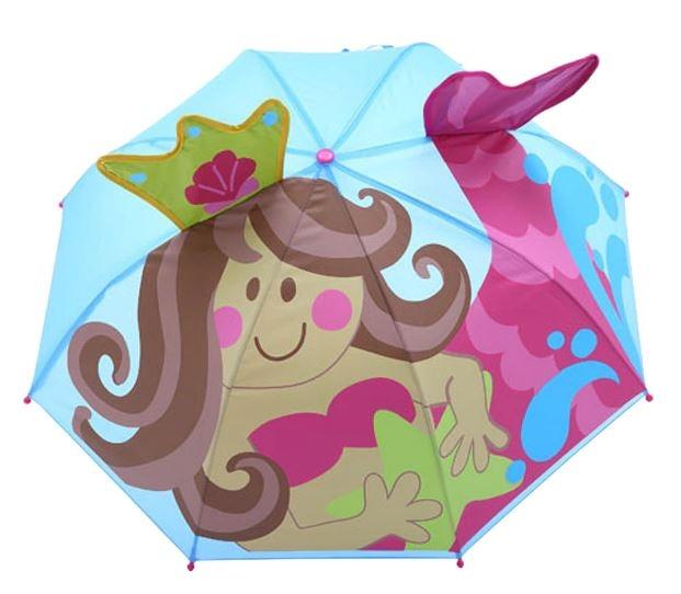 Детский 3D зонт-трость с мультяшными героями и зверушками - 2