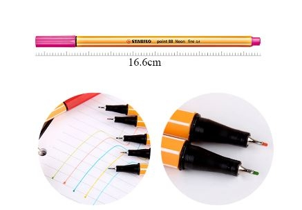 Художественная каппилярная ручка-лайнер STABILO Point 88 Fineliner - 1