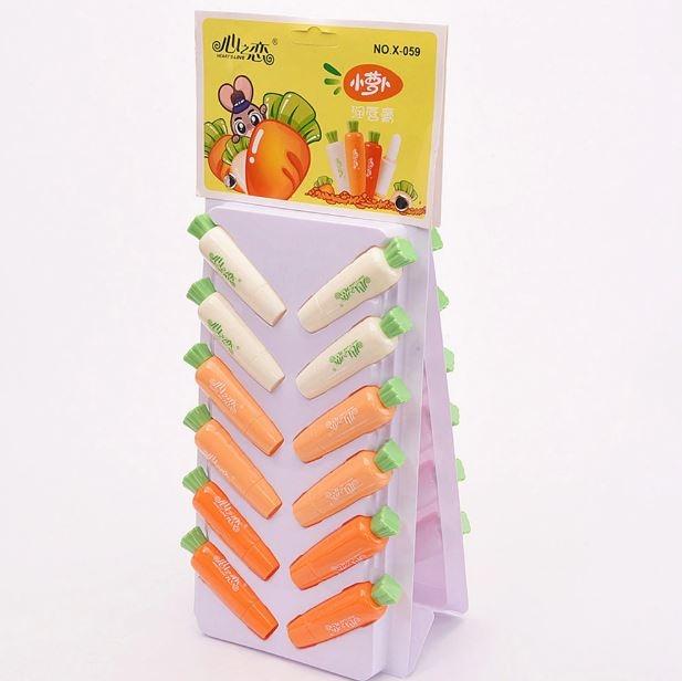 Бальзам для губ с аромамаслами Морковь - 1