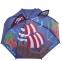 Детский 3D зонт-трость с мультяшными героями и зверушками - 4