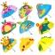Детский 3D зонт-трость с мультяшными героями и зверушками - 11