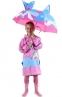 Детский 3D зонт-трость с мультяшными героями и зверушками - 1